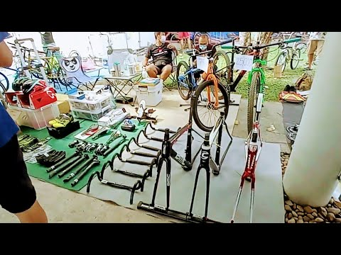 จักรยาน ตลาดนัดจักรยาน TOT นัดกันขายจักรยาน/ชุดแต่งจักรยาน/อุปกรณ์จักรยาน มีขายเย๊อะที่สุดในประเทศ