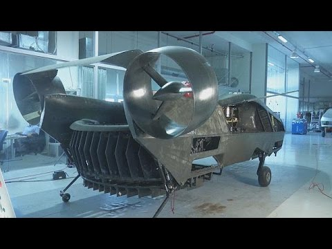AirMule: A drone that reaches the parts that other aircraft cannot