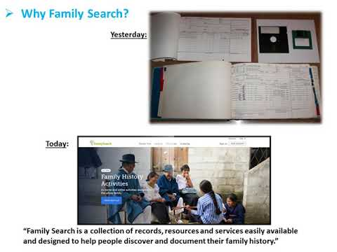 Temple  Family History Consultant Example by Harold Davis