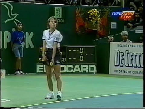Martina Hingis vs Naoko Sawamatsu Zurich 1996 (full match)