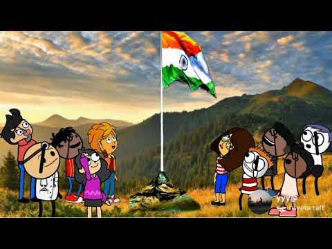 Happy Independence Day 2021(Jai Hind).@Bodo Cartoon B
