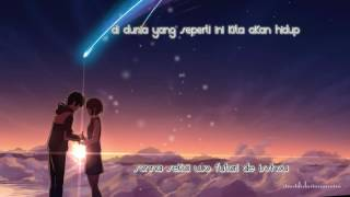 Download lagu Sparkle - RADWIMPS [Kimi no Na Wa OST][Indonesian Translation]