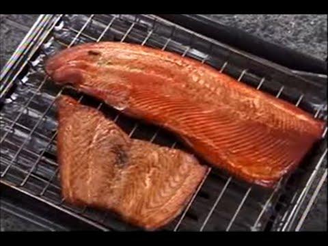Maple Smoked Salmon Recipe Video On The Bradley Smoker