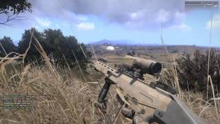 A taste of Arma 3 on a full multiplayer server, no commentary.