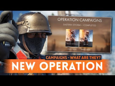 ► NEW OPERATION CAMPAIGNS: What Are They? - Battlefield 1 November Update (New Feature)