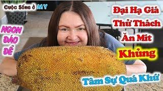 ❀//Vlog 231// Đại Hạ Giá Thử Thách Ăn Trái Mít Khủng - Tâm Sự Về Quá Khứ Của Kim và Cái Kết...