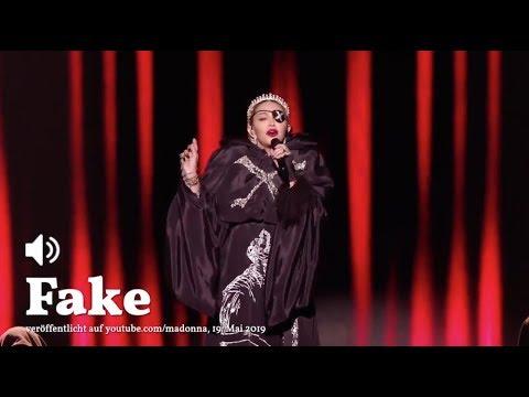 ESC 2019: Der Madonna-Fake | Übermedien.de