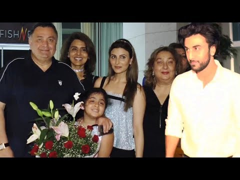 Full Video: Ranbir Kapoor's Mother Neetu Singh's Grand Birthday Bash