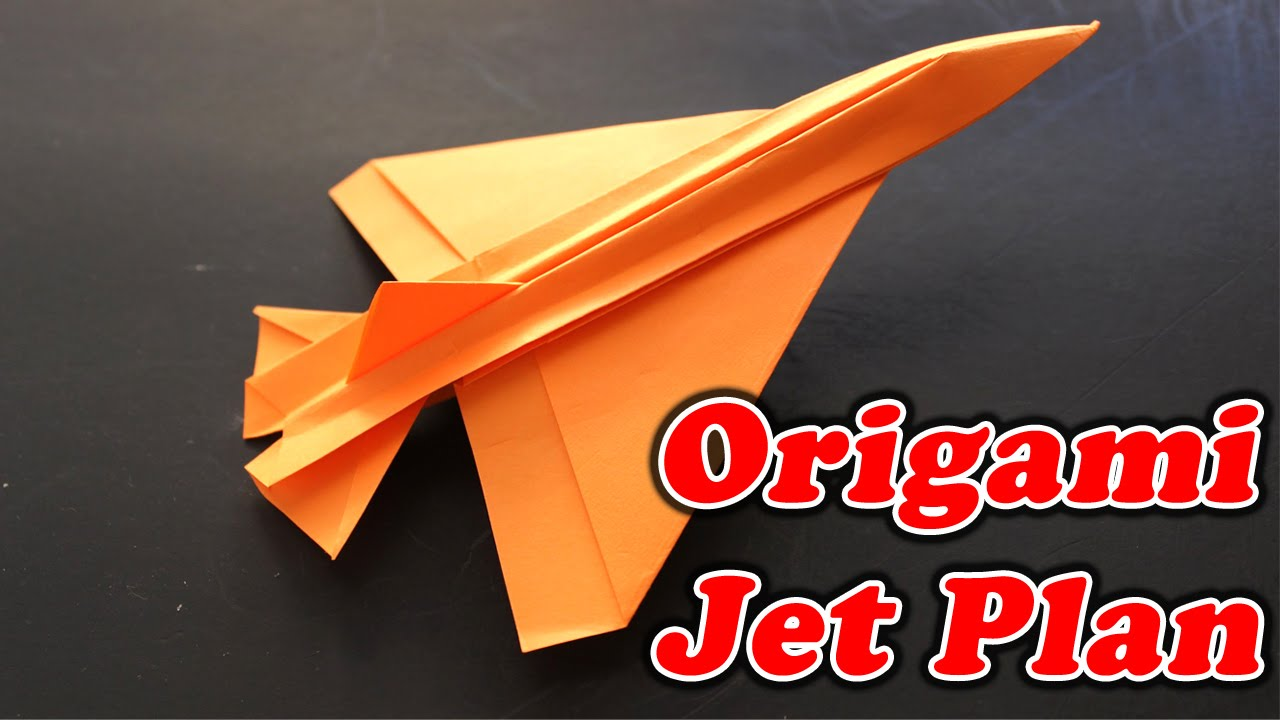 How to make paper jet plane origami art work easy crafting how to make paper jet plane origami art work easy crafting steps jeuxipadfo Images