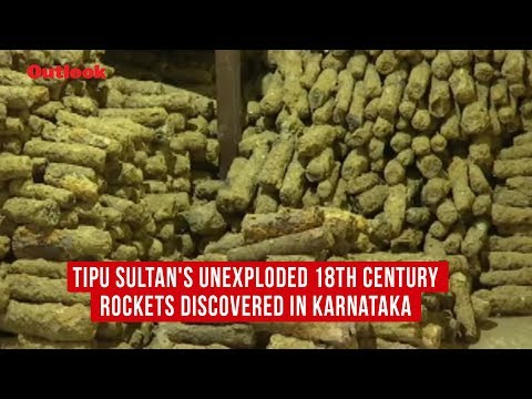 Tipu Sultan's Unexploded 18th Century Rockets Discovered In Karnataka
