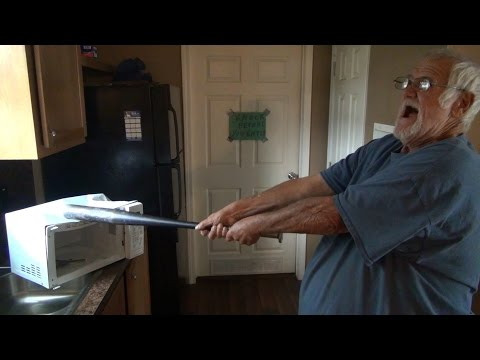 JUSTICE FOR ERIC GARNER! (GRANDPA GOES CRAZY!)