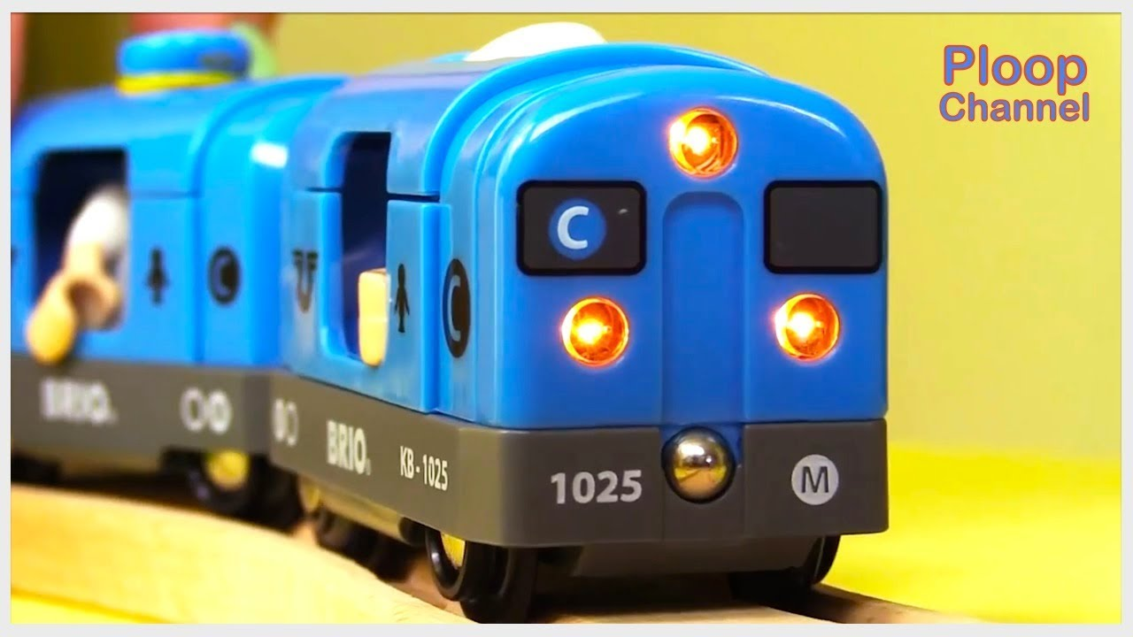 Kids Mega Choo Choo Toy Train Compilation For Kids Childrens Animation Videos For Kids Brio Toys