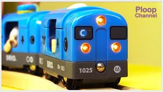 Kid's MEGA Choo-Choo TOY TRAIN COMPILATION for Kids - Children's Animation Videos for kids BRIO Toys thumbnail
