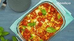 Tomaatti-fetapasta uunissa