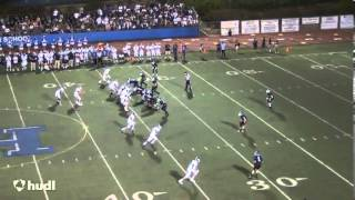 Justin Stafford Dana Hills High School Football 2013 Senior Season Highlights