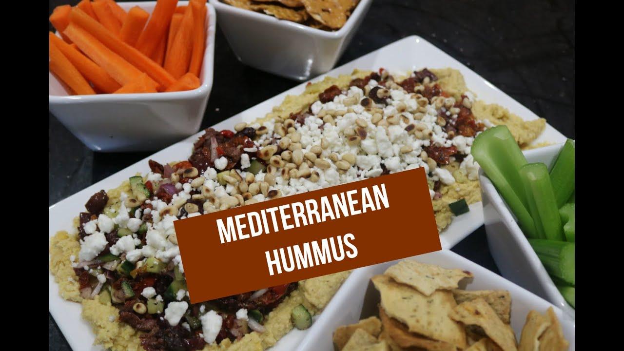 Mediterranean Layered Hummus