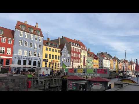 Nyhavn waterfront Copenhagen, Denmark.