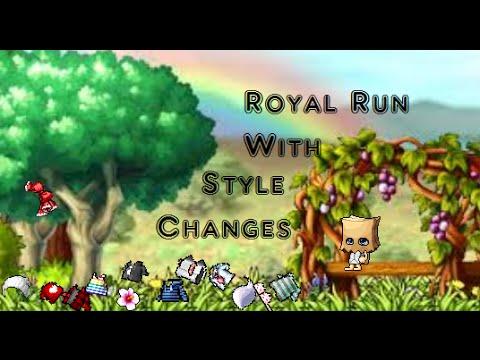 [Maplestory] Royal Hair Run w/Melv&Ryan