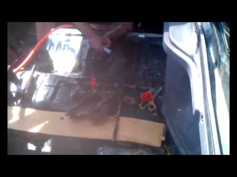 Ford Probe Fuel Pump Exposed Through Floor Board Youtube