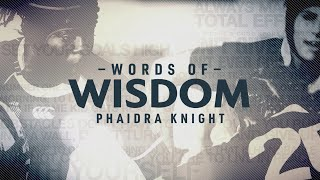 Phaidra Knight's advice for young players! thumbnail