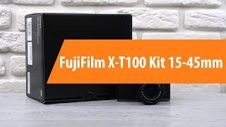 Розпакування компактної камери FujiFilm X-T100 Kit 15-45mm/ Unboxing FujiFilm X-T100 Kit 15-45mm