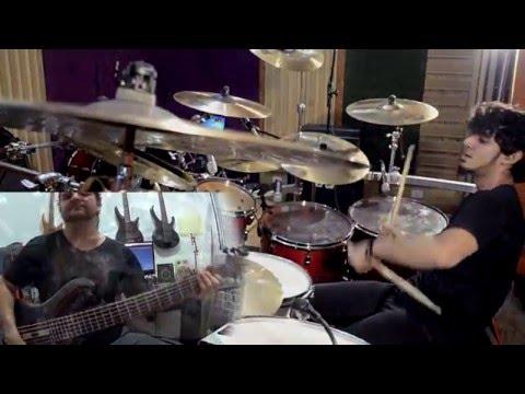 Bruno Valverde ft Felipe Andreoli - Nova Era - Angra - Drums  Bass only