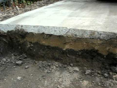 Why do concrete driveways crack concrete vs paver driveway why do concrete driveways crack concrete vs paver driveway youtube solutioingenieria Image collections