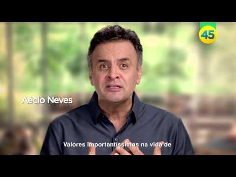 Veja o último programa eleitoral de Aécio Neves antes da eleição (24/10/2014)