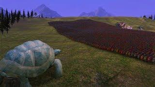 TARTARUGA VS 30.000 SOLDADOS ROMANOS - Ultimate Epic Battle Simulator!!