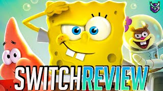 Spongebob Squarepants Battle for Bikini Bottom Rehydrated Switch Review (Video Game Video Review)