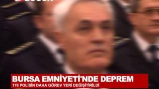 BURSA EMNİYETİ'NDE DEPREM