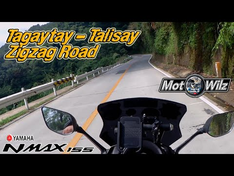 Tagaytay to Talisay Zigzag Road  l  Ride with my NMAX 155