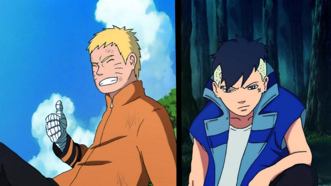 Naruto And Kawaki After The Fight Vs. Delta - Boruto Manga Chapter ...