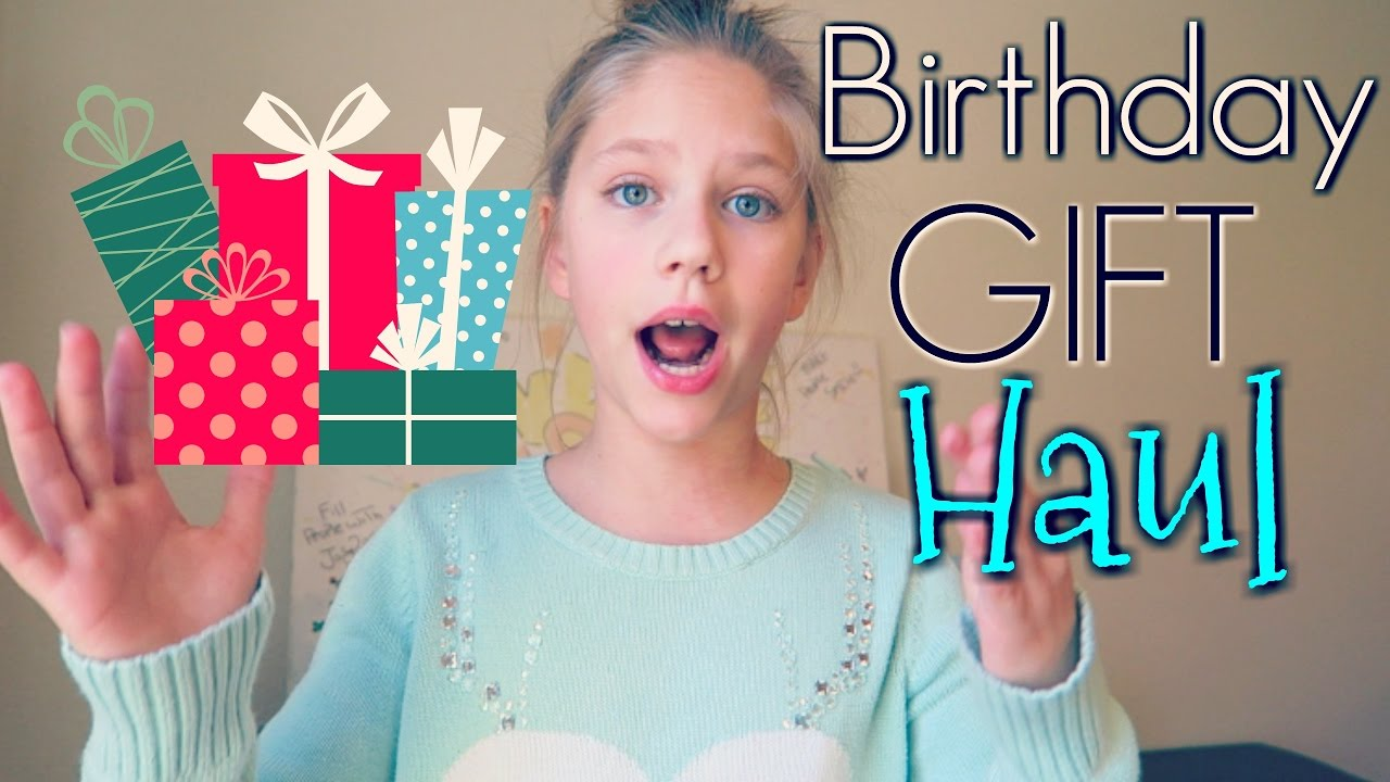 Birthday Gifts Haul Hopes 11th Presents And Toys From Family Vlogs