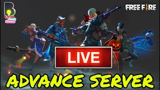 PLAYING ADVANCE SERVER 😍WHATS NEW ? || FREE FIRE LIVE || PRO MOBILE GAMEPLAY  || BIGLIVE |