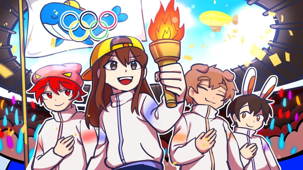 우리도 함께 즐기는 올림픽! *마인크래프트* 🥇🥈🥉