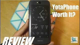 REVIEW: Yotaphone 2 in 2018 - Dual Screen Eink Phone