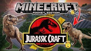 ⭐️Como Colocar Dinossauros (Jurassic Craft) Minecraft PE