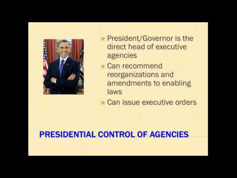 Administrative Agency Chapter 1