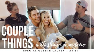 Lauren + Arie | couple things with shawn and andrew