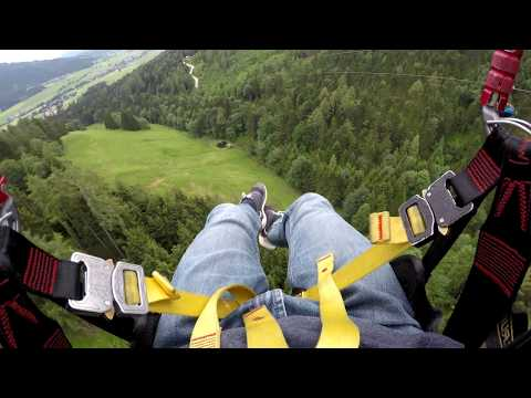 [4k/30] Zipline Stoderzinken Austria 2018