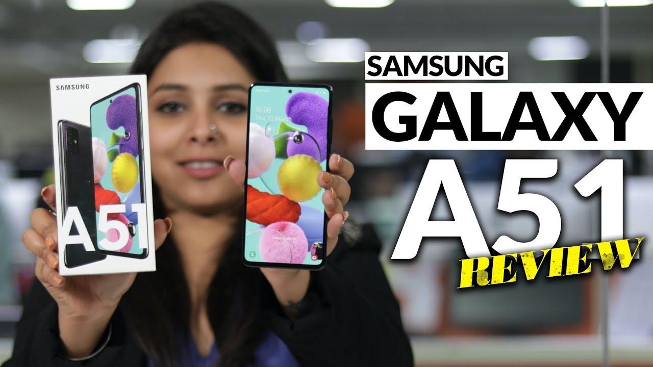 Samsung Galaxy A51 Hindi Review: 'मेक फॉर इंडिया' इनोवेटिव फीचर वाला स्मार्टफोन - Watch Video