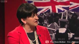 Spotlight Arlene Foster on a UI