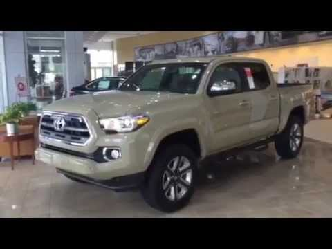 2016 toyota tacoma limited review youtube. Black Bedroom Furniture Sets. Home Design Ideas