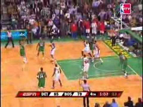 Nba Pistons 87, Celtics 85(07-08 New Season)