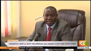 Laikipia doctors' strike standoff