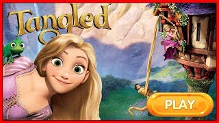 Disney Princess Games, Rapunzel Online Flash Game, Disney Channel, Tangled Double Trouble