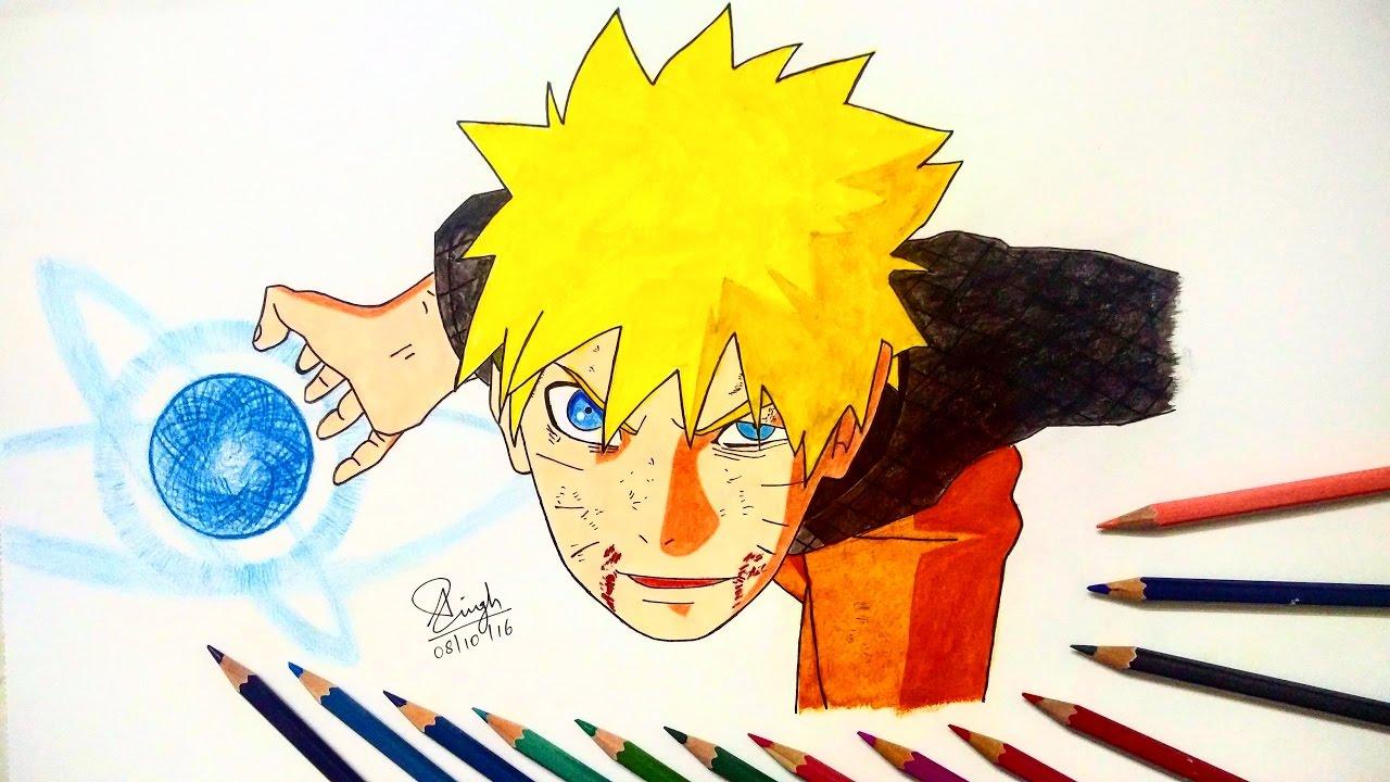 Drawing Naruto Final Rasengan - YouTube