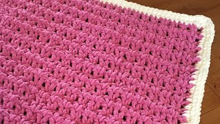 How to Crochet A Baby Blanket: Beginners