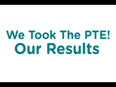 The Results of Our PTE! - YouTube